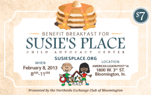 Susie's Place Pancake Breakfast Ticket