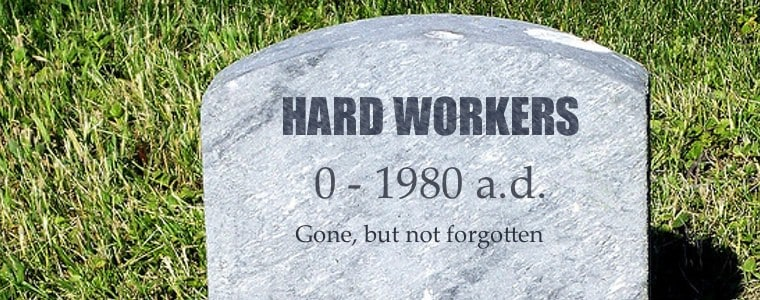 Death of Hard Work