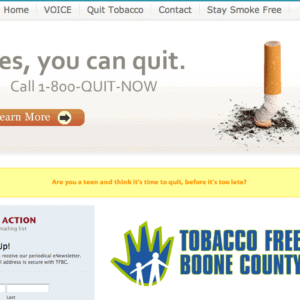 Tobacoo Free Boone County