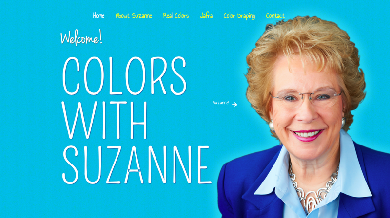 Colors with Suzanne Website