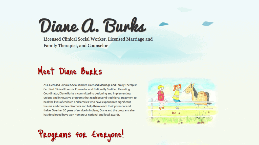 Diane Burks Website