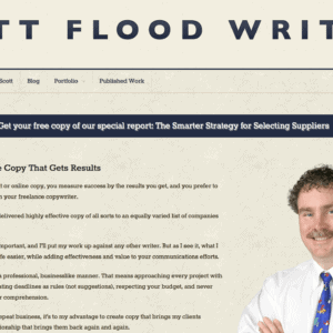 Scott Flood Writing