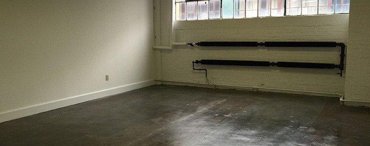 Empty Office at the Stutz Center in Indianapolis