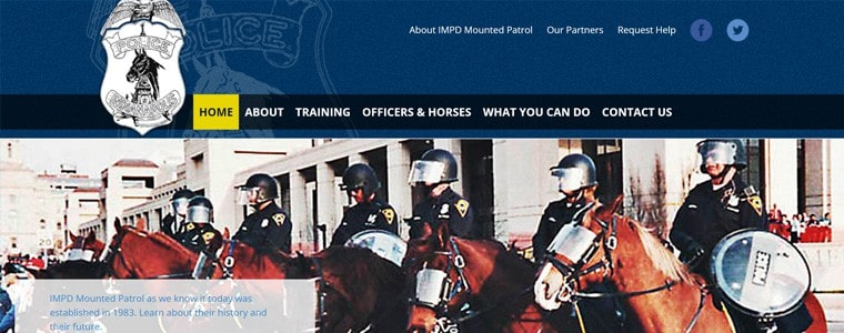 new-impd-mounted-patrol-website